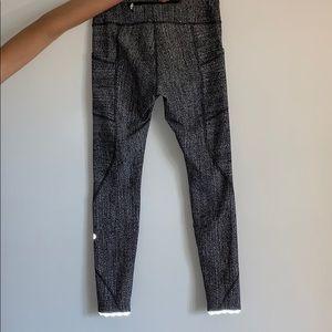 Lululemon reflective 7/8 leggings!